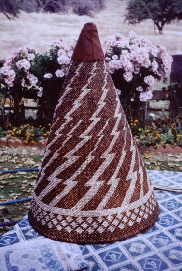 Western Mono basket by Ulysses 'Uly' Goode, courtesy National Endowment for the Arts