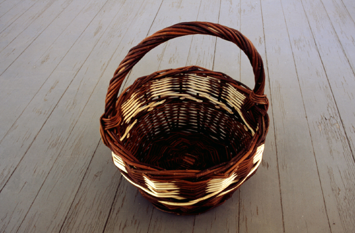 Basket by Leroy Graber, courtesy Leroy Graber