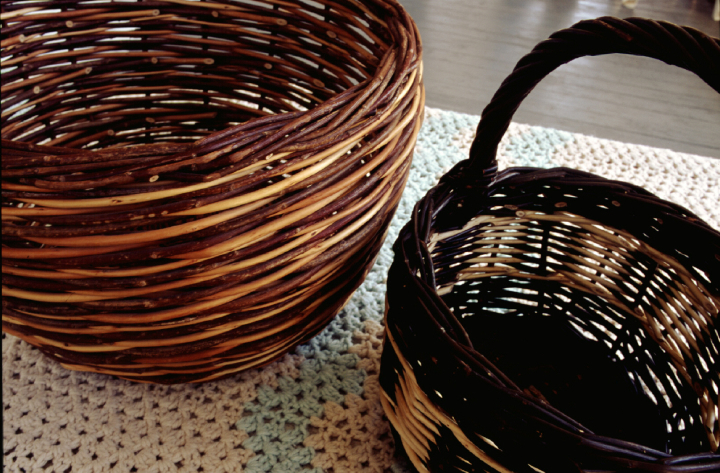 Baskets (details) by Leroy Graber, courtesy Leroy Graber