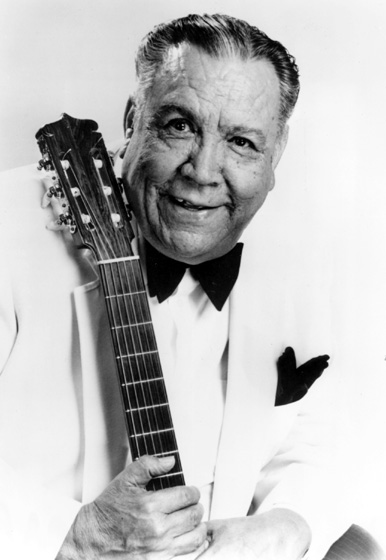 "Eduardo ""Lalo"" Guerrero, a Mexican American singer, guitarist and composer, often wrote lyrics containing messages of social awareness, most notably proclaiming the significance of Mexican American culture. Courtesy National Endowment for the Arts"