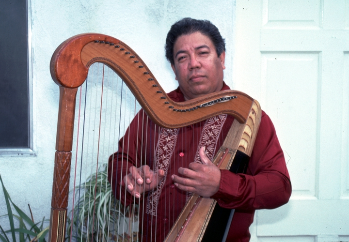 José Gutiérrez, Norwalk, California, 1991, photograph by Alan Govenar