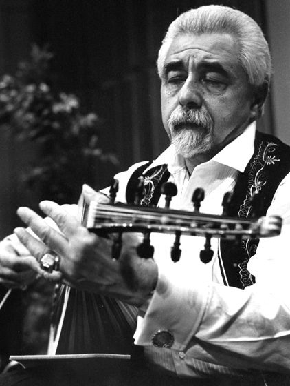 Richard Hagopian, 1991, photograph by Jack Vartoogian