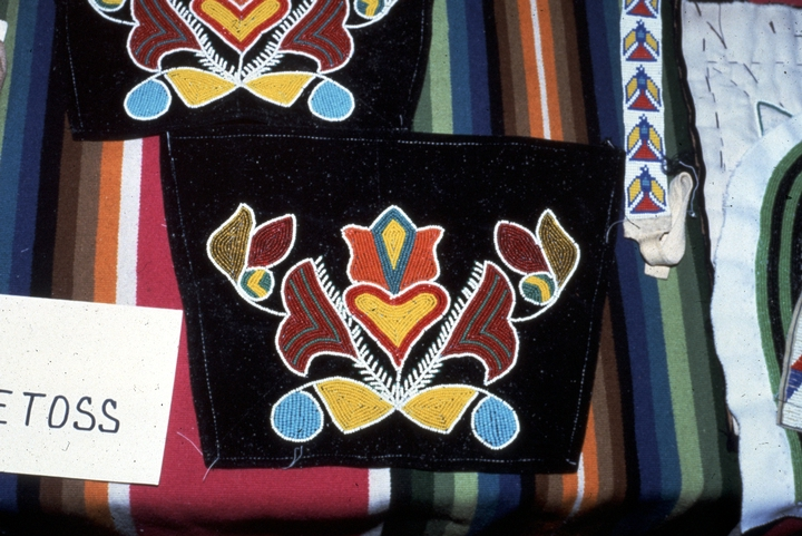 Menominee Potawatomi craftwork by Gerald Hawpetoss, courtesy National Endowment for the Arts