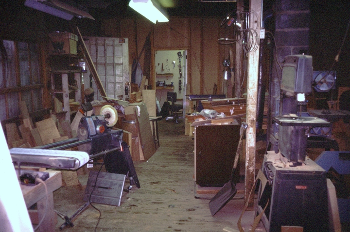 Wayne Henderson's shop, Mouth of Wilson, Virginia, Courtesy National Endowment for the Arts