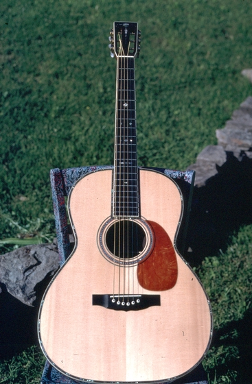 Guitar by Wayne Henderson, Courtesy National Endowment for the Arts