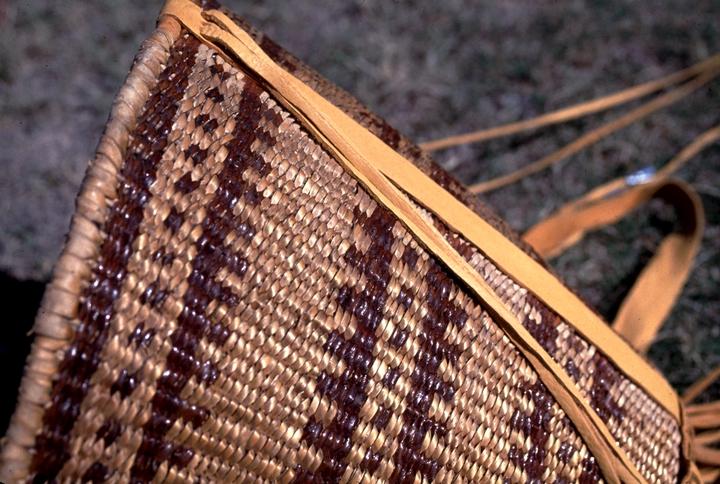 Ceremonial burden basket (detail), San Carlos, Arizona, 1982, courtesy National Endowment for the Arts