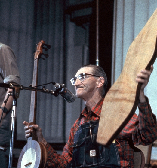 Stanley Hicks, courtesy Ralph Rinzler Folklife Archives and Collections, Center for Folklife and Cultural Heritage, Smithsonian Institution