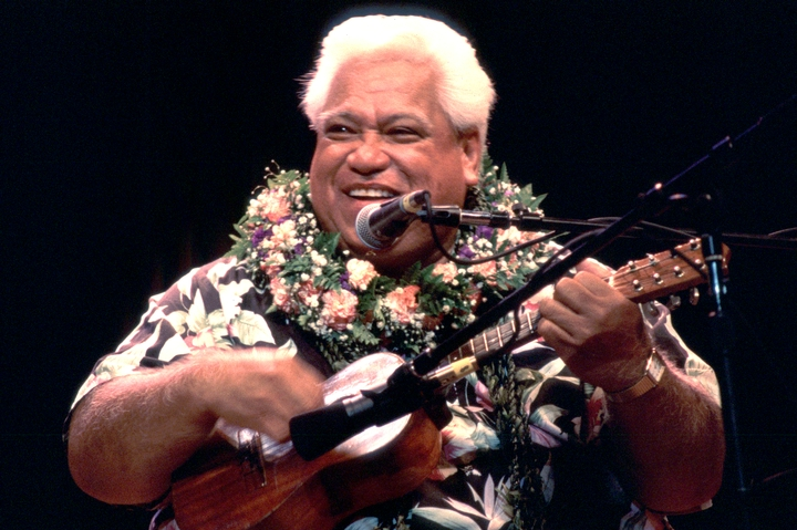 Richard Ho'opi'i, 1996 National Heritage Fellowship Ceremonies, courtesy National Endowment for the Arts