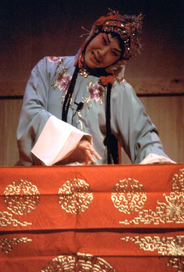 Hua Wenyi performs the role of Tu Li-Niang in 'The Peony Pavilion,' courtesy National Endowment for the Arts