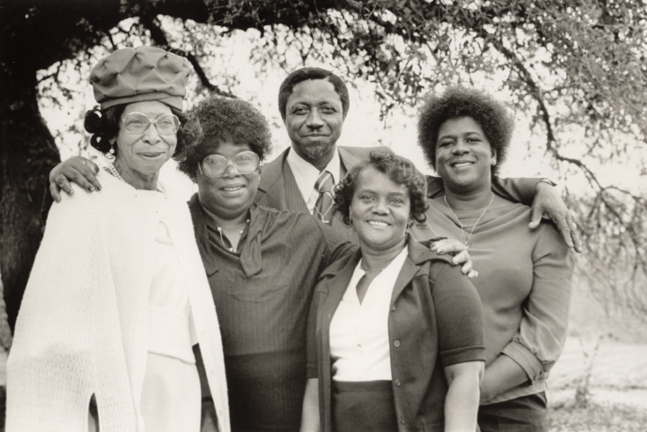 Portrait of the Moving Star Hall Singers (Janie Hunter left), courtesy Folklife Resource Center, McKissick Museum, University of South Carolina, Columbia, South Carolina