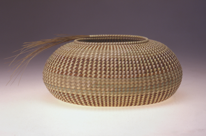Mary Jackson, Oval Vessel with Sweetgrass Spray, photograph by Jack Alterman, courtesy Mary Jackson