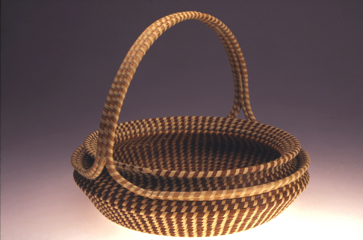 Mary Jackson, Two Lips Basket, photograph by Jack Alterman, courtesy Mary Jackson