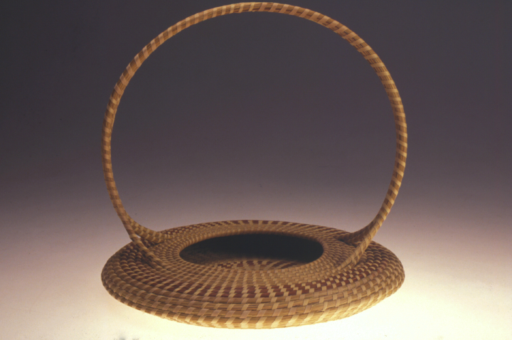 Mary Jackson, Untitled Basket with Handle, photograph by Jack Alterman, courtesy Mary Jackson