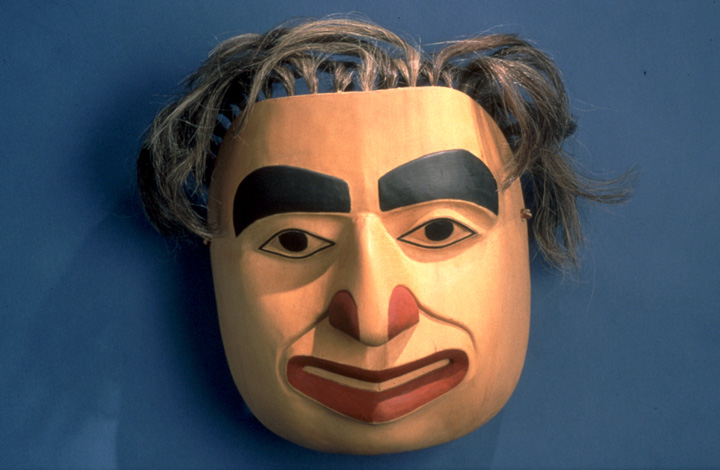Mask by Nathan Jackson, courtesy National Endowment for the Arts