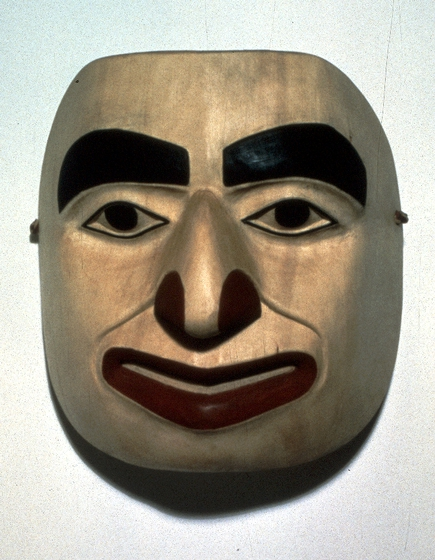 Mask by Nathan Jackson, photograph by Rose A. Fosdick, courtesy Alaska State Council on the Arts