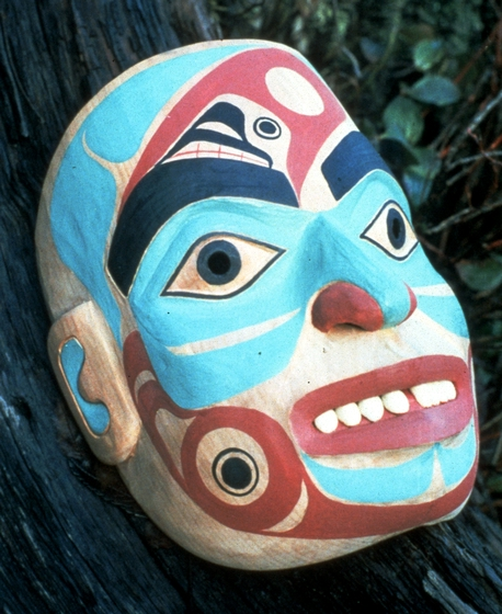 Mask by Nathan Jackson, courtesy Alaska State Council on the Arts