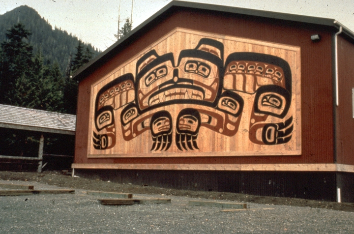 Tlingit panel by Nathan Jackson, courtesy National Endowment for the Arts