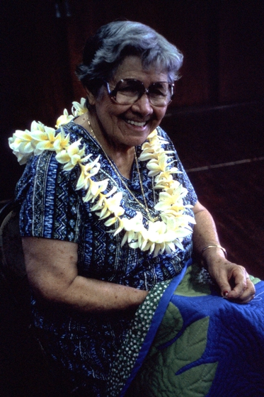 Meali'i Kalama, photograph by Lynn Martin,  courtesy National Endowment for the Arts and the State Foundation on Culture and the Arts, Hawaii