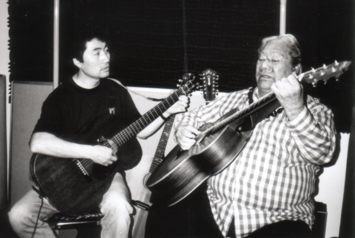 From left: Yuki Alani Yamauchi, Raymond Kane, 1998, courtesy Raymond Kane