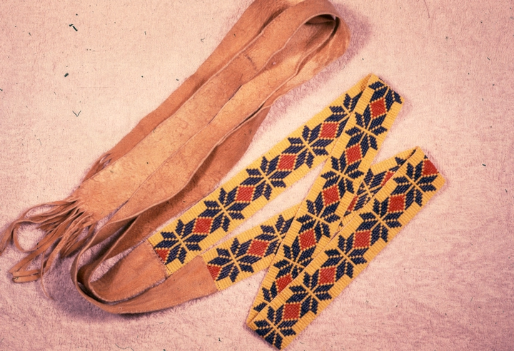Ojibwe craftwork by Maude Kegg, Courtesy National Endowment for the Arts