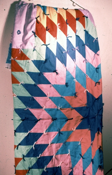 Star quilt by Maude Kegg, Courtesy National Endowment for the Arts