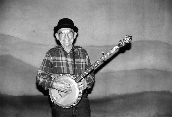 Will Keys came from a musical family in the Blackley Creek area of eastern Tennessee. Growing up, he learned two-finger banjo style, with which he could perform everything from fast breakdowns to waltzes and show tunes. Photograph by Robert Cogswell, courtesy Tennessee Arts Commission
