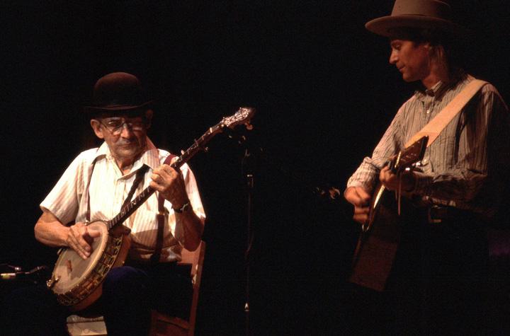Will Keys (left), 1997 National Heritage Fellowship Concert, courtesy National Endowment for the Arts