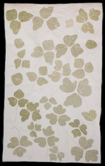 Kudzu quilt by Bettye Kimbrell, Mt. Olive, Alabama, 2008, photograph by Alan Govenar
