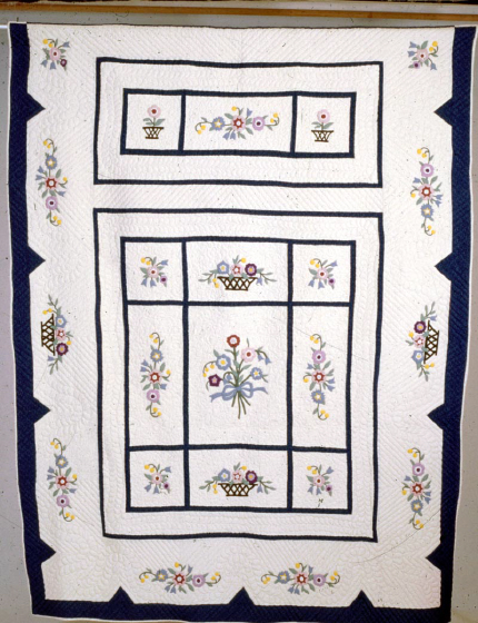 Quilt by Bettye Kimbrell, courtesy National Endowment for the Arts