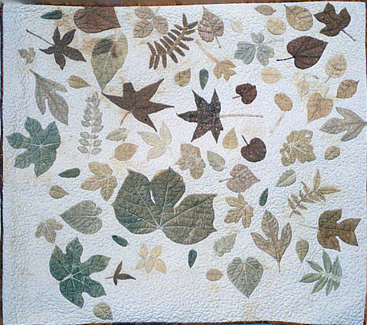 'Cherokee Leaf Pounding Wall Hanging' by Bettye Kimbrell, courtesy Betty Kimbrell