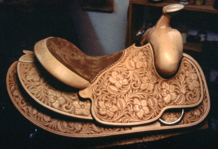 Saddle by Don King (detail), courtesy National Endowment for the Arts and American Studies