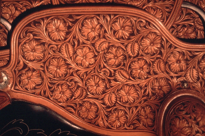 Saddle by Don King (detail), courtesy National Endowment for the Arts