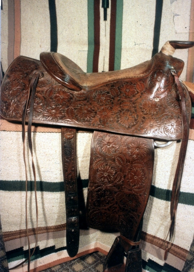 Saddle by Don King, courtesy National Endowment for the Arts