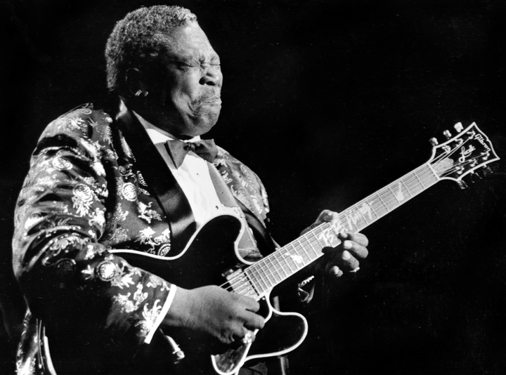 B.B. King, photograph by Michael P. Smith