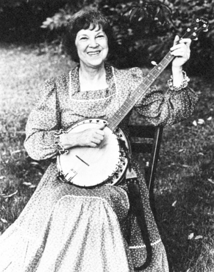Kentucky-born Lily May Ledford, a banjo player and singer, performed across the country with the all-female Coon Creek Girls. They once entertained the king and queen of England at the White House. Photograph by Jim Broadwater, courtesy National Endowment for the Arts