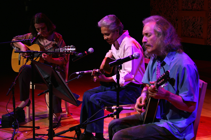 Agustin Lira and his band, 2007 National Heritage Fellowship Concert, Bethesda, Maryland, photograph by Michael G. Stewart