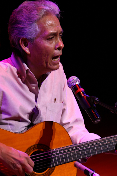 Agustin Lira, 2007 National Heritage Fellowship Concert, Bethesda, Maryland, photograph by Michael G. Stewart