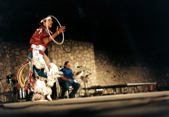 Kevin Locke, photograph by Joseph T. Wilson, courtesy National Council for the Traditional Arts
