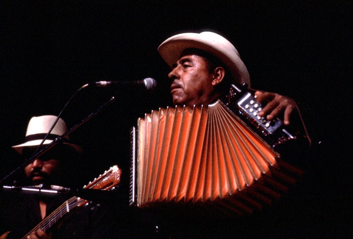 Valerio Longoria and his *conjunto*, 1986 National Heritage Fellowship Ceremonies, courtesy National Endowment for the Arts