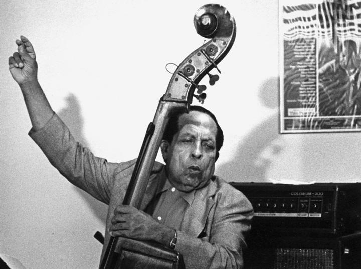 Israel 'Cachao' López, 1991, photograph by Jack Vartoogian