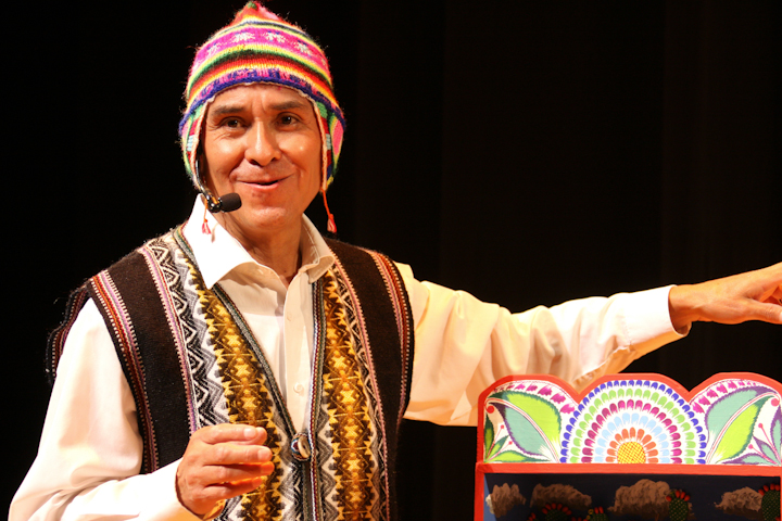 Jeronimo E. Lozano, 2008 National Heritage Fellowship Concert, Bethesda, Maryland, photograph by Michael G. Stewart