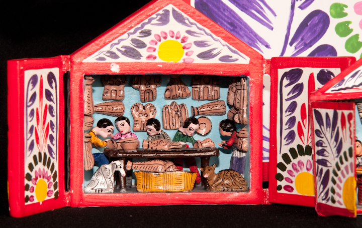 *Retablos* by Jeronimo E. Lozano, Bethesda, Maryland, 2008, photograph by Alan Hatchett