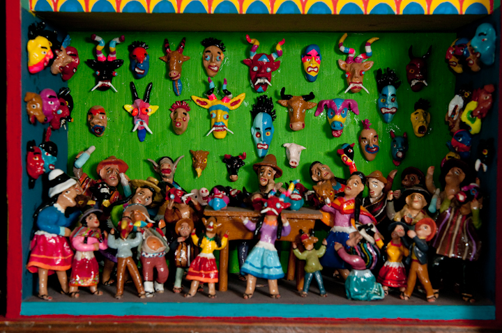 *Retablo* by Jeronimo E. Lozano, Salt Lake City, Utah, 2009, photograph by Alan Govenar