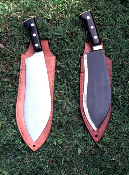 Machetes forged and finished by Joaquin Lujan, courtesy National Endowment for the Arts