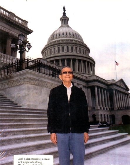 Joaquin 'Jack' Lujan, 1996 National Heritage Fellowship Ceremonies, courtesy National Endowment for the Arts