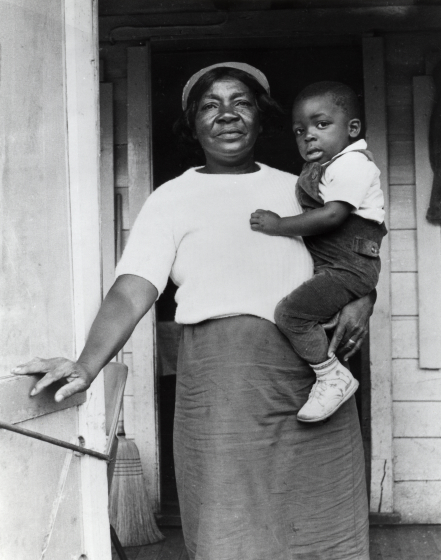 Mary Jane Manigault and her son, courtesy Mary Jane Manigault