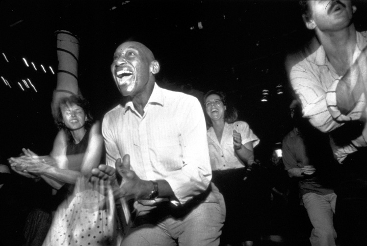 Frankie Manning, photograph by Hazel Hankin/City Lore
