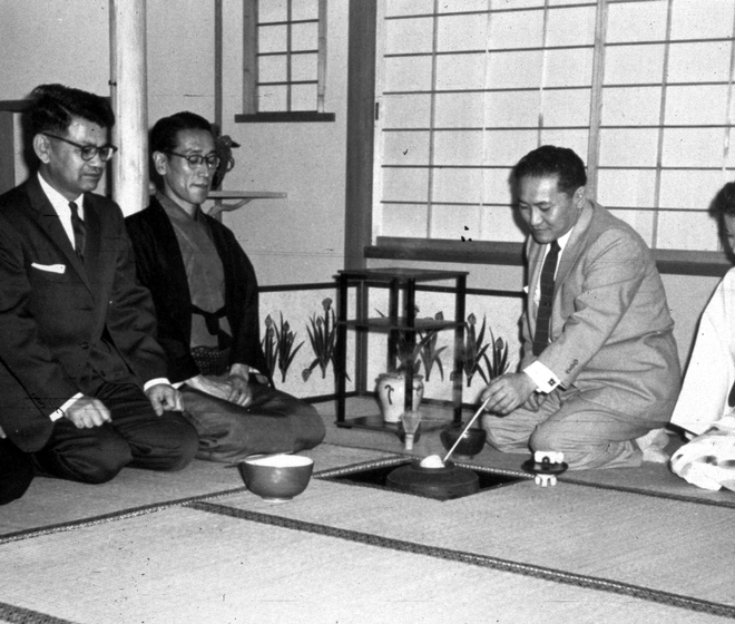Sosei Shizuye Matsumoto, tea ceremony, 1957, courtesy National Endowment for the Arts
