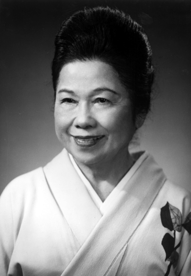 Sosei Shizuye Matsumoto, photograph by Mr. Miyatake, courtesy National Endowment for the Arts
