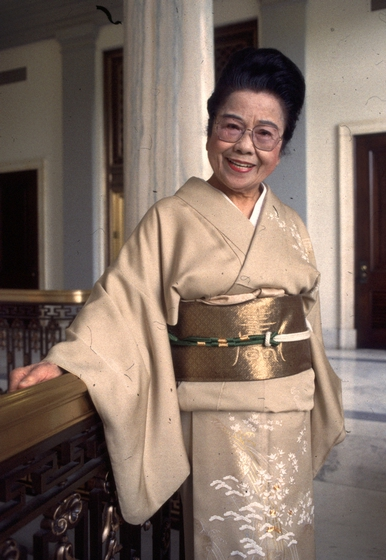 Sosei Shizuye Matsumoto, 1994 National Heritage Fellowship Ceremonies, courtesy National Endowment for the Arts